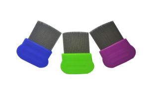 Stainless Steel Needle Plastic Hair Lice Comb pictures & photos