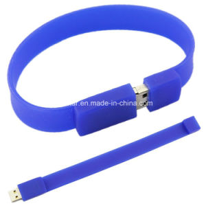 128g Silicon USB Memory Stick Bracelet Wristband USB Flash Drive pictures & photos