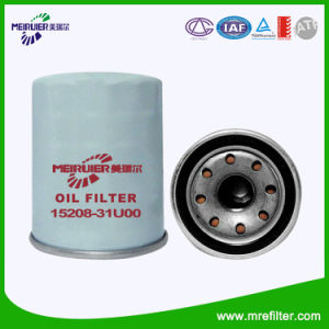 for Nissan Engine Auto Oil Filter 15208-31u00 pictures & photos