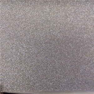Glitter PVC Leather for Shoes (HS-M306) pictures & photos