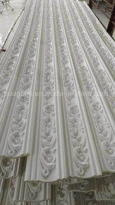 Carving PU Crown Moulding for Ceiling Decoration pictures & photos