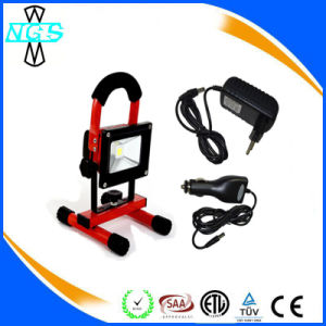 Stable Quality Rechargeable Outdoor LED Work Light Flood Light pictures & photos