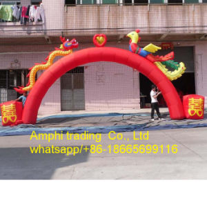 Inflatable Dragon Arch Outdoor Arch