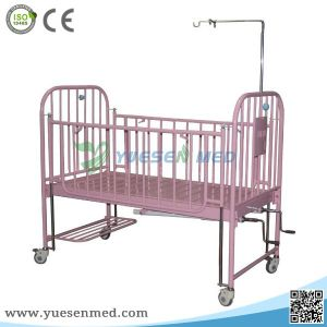 High Quality Stainless Steel Yshb-Et2 Children Baby Manual Hospital Bed pictures & photos