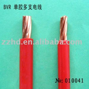 450/750V Copper Core PVC Insulation 60227 IEC01 BV 25mm2 pictures & photos