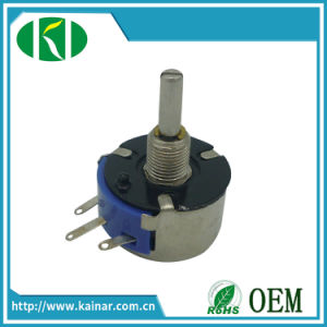 Wx14 3W Single Turn Wire Wound Potentiometer pictures & photos