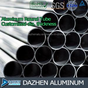 Round Square Tube Customized Aluminium 6063 Extrusion Profile pictures & photos