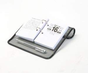 Calendar Holder/ Metal Mesh Stationery Organizer/ Office Desk Accessories pictures & photos