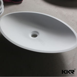 Solid Surface Bathroom Sink Hand Wash Basin pictures & photos