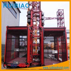 Double Cage Passenger Hoist (SC200/200 & 100/100) pictures & photos