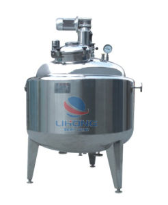 Steam Heating Stainless Steel Temperature Insulated Mixing Machine pictures & photos
