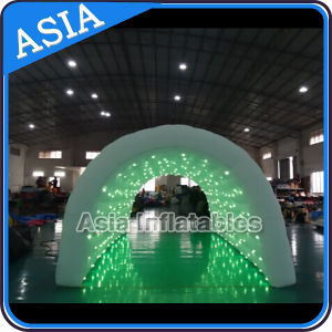 Giant Inflatable Tunnel for Wedding Party Use, Inflatable Event Tunnel with Lights pictures & photos
