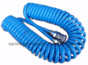 TPU Coil Spiral Air Hose with Sp Quick Coupler (PU106510) pictures & photos