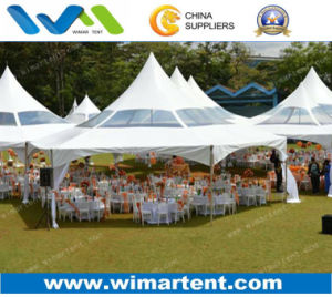 100 Seaters Hexagon Tent for Church Activities Funeral Gatherings pictures & photos