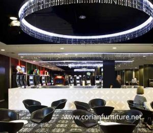 LED Hotel Rstaurant Nade to Order Bar Counter pictures & photos