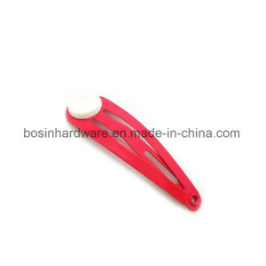 60mm Red Craft Slide Snap Hair Lip pictures & photos