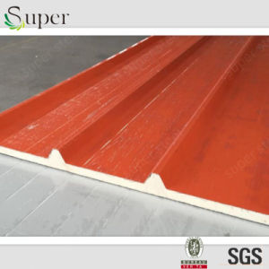 Polyurethane PU Sandwich Panel for Contructions Buildings pictures & photos