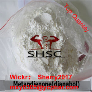 Oral Dianabol for Chronic Wasting 72-63-9 Muscle Building Steroid Metandienone pictures & photos