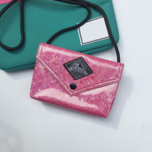 Flash Patterns PU Pink Lady Hand Bag (M009-12) pictures & photos