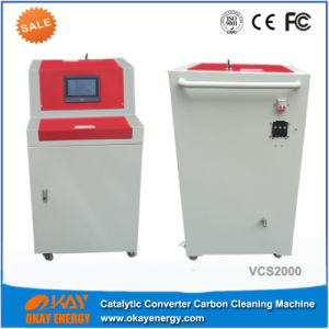 Eco Technology Car Exhaust System Visible Catalyst Carbon Cleaning Machine pictures & photos