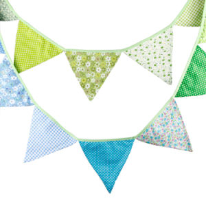 Event and Backstroke Bunting and Flag Original Liberty Fabric Bunting pictures & photos