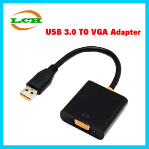High Quality USB 3.0 to VGA Hub Adapter for Laptop pictures & photos