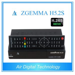 Digital Features Hevc/H. 265 DVB-S2+S2 Twin Tuners Zgemma H5.2s Linux OS Enigma2 Satellite Receiver&Decoder pictures & photos