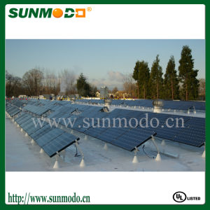 BIPV Roof Mounting Solar System for Concrete Flat Roof pictures & photos