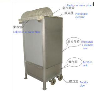 Mbr Flat Membrane Bioreactor for Water Treatment Equipment pictures & photos