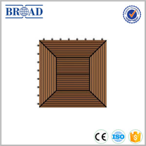 Wood Plastic Composite DIY Tiles with Many Styles pictures & photos