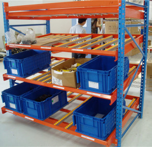 Warehouse Storage Solution Carton Live Racking pictures & photos