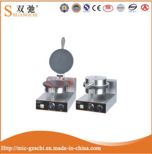 Stainless Steel 1 Palte Electric Single Cone Baker Making Machine pictures & photos
