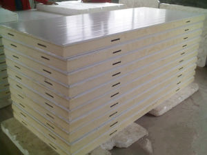 100mm Cold Room Polyurethane Sandwich Panels pictures & photos