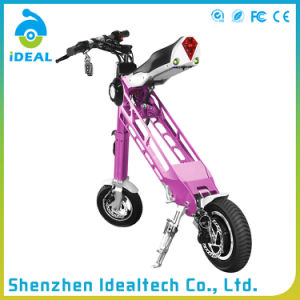 Unique Design 25km/H 10 Inch Mobility Folded Electric Scooter pictures & photos