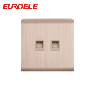 Ce/CB Standard 2 Gang Tel Socket/Data Socket pictures & photos
