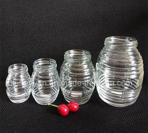 High-End Glass Jar for Honey, Jam, Food, Pickle Glass Bottles 700ml