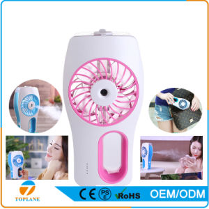 Portable Water Spray Cooling Mist Electric Humidifier Fan pictures & photos