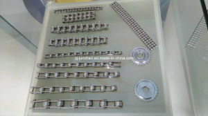Chain Factory Stainless Steel Conveyor Chain with K2 Attachment Big Roller Conveyor Chain Roller Chain pictures & photos