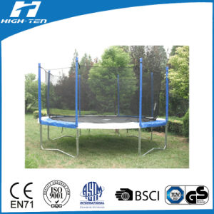 14FT Colourful Trampoline with Enclosure, Cheap Trampoline pictures & photos