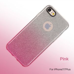 Sparkle Shinning Protective Bumper Bling Glitter Case for iPhone 7 pictures & photos
