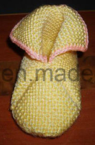 Warm Handmade Crocheting Baby Socks, Stockings