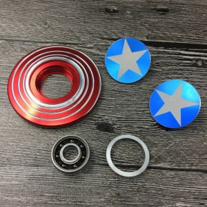 Captain America Handspinner Creative Metal Fidget Spinner pictures & photos