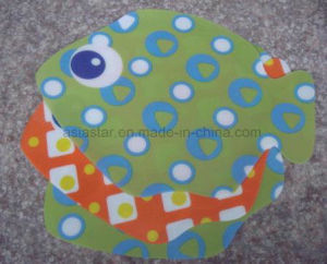 Multi Color PVC Fish Coaster pictures & photos