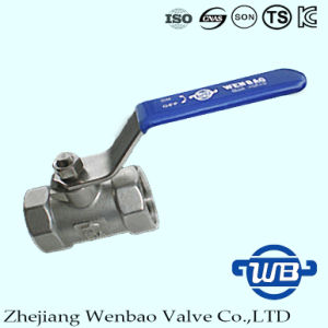 1PC Female Thread Standard Ball Valve with Locking Handle pictures & photos