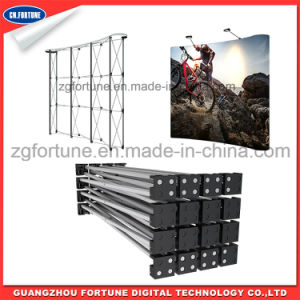 New Style Advertising Exhibition Equipment Display Fabric Pop up Stand pictures & photos
