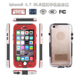 China Wholesale Cls Waterproof PC Mobile/Cell Phone Shock Life Proof Cover Case for iPhone 6 6plus (RPCLS6G) pictures & photos
