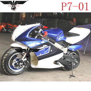 P7-01 Calssical Pocket Bike Motorcycle ATV Scooter with Ce pictures & photos