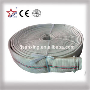 Double Jacket PVC Lined Fire Hose Canvas Pipe pictures & photos