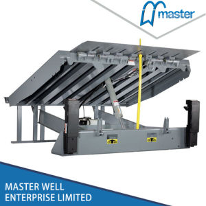 Stationary Warehouse Hydraulic Truck Container Adjustable Loading Dock Leveler pictures & photos
