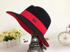Wool Felt Colourful Gentleman Hat with Logo Customed Cap pictures & photos